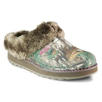 BOBS Snow Angels RealTree Camouflage Clogs