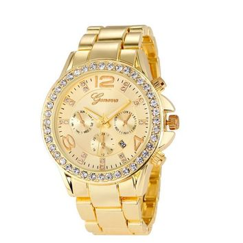 Women Luxury Geneva Watch