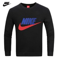NIKE new NIKE men's suits cotton long-sleeved trousers two-piece sportswear turtleneck pullover