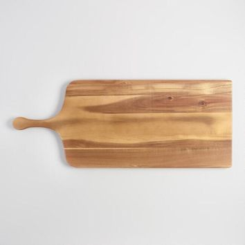 Extra Large Acacia Wood Paddle Cutting Board