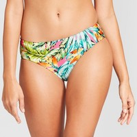 Clean Water Women's Tropical Hipster Bikini Bottom - Pink Floral