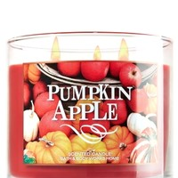3-Wick Candle Pumpkin Apple