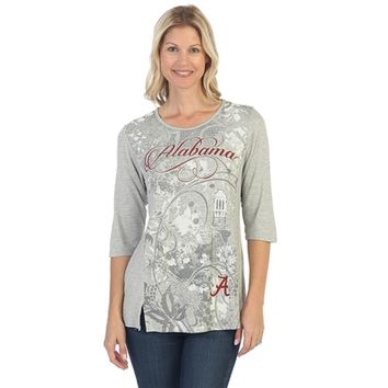 Alabama Crimson Tide Script Print Shirt
