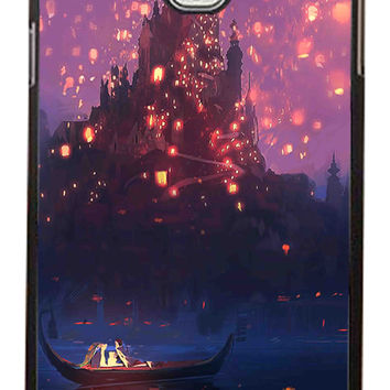 Tangled Romantic Night in Castle Samsung Galaxy Note 3 Cases - Hard Plastic, Rubber Case