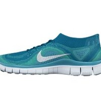 The Nike Free Flyknit+ Women's Running Shoe.
