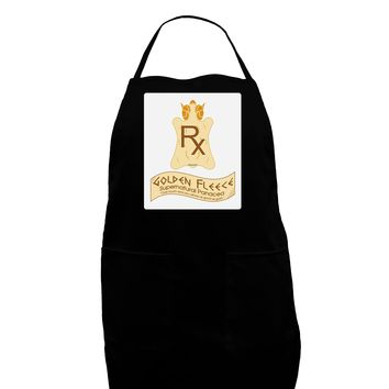Golden Fleece - Supernatural Panacea Panel Dark Adult Apron by TooLoud