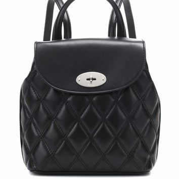 Mini Bayswater leather backpack