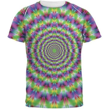 DCCKU3R Trippy All Over Adult T-Shirt