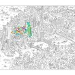 MoMA Giant NYC Coloring Poster
