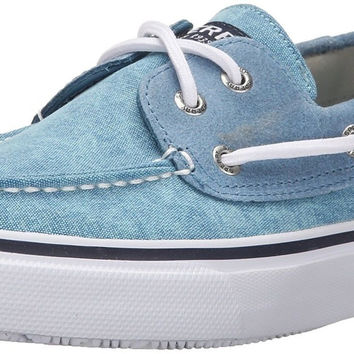 Sperry Top-sider Men's Bahama Two-Eye White Cap Boat Shoe Blue 7 D(M) US