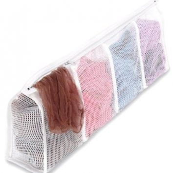 Whitmor 6154-988 Mesh Hosiery Wash Bag