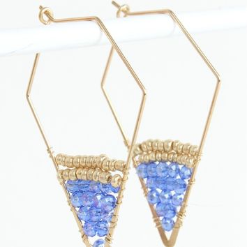 Geo Beaded Earring