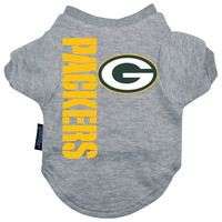 Green Bay Packers Dog Tee Shirt - Extra Large