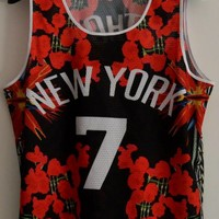 Indie Designs Plagiarized Givenchy Inspired New York Knicks Anthony Jersey