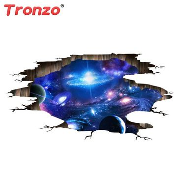 Outer Space and Planets 3-D Wall Floor or Ceiling Decal