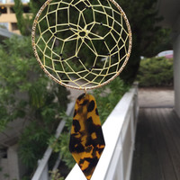 Tortoise Shell Dream Catcher-Car