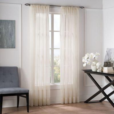 Outdoor Mosquito Netting Curtains Sheer Tie Top Curtains