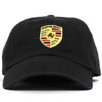 Stuttgart Unstructured Hat Black