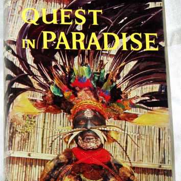 Quest in Paradise by David Attenborough 1960 HB, birds, Papua, PNG, Fiji, Samoa