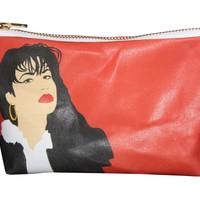 Selena Pop Zipper Pouch and Makeup Bag – Illustrated and Handmade in the USA - LIMITED EDITION (Available through April 2015 Only)
