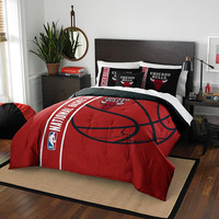 Chicago Bulls NBA Full Comforter Set (Soft & Cozy) (76 x 86)