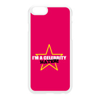 Celebrity Hater White Hard Plastic Case for iPhone 6 by Chargrilled