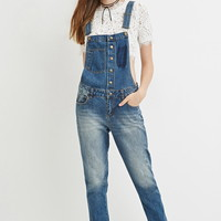 Contemporary Life in Progress Denim Overalls