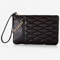 QUILTED CHAIN SWAG WRISTLET from EXPRESS