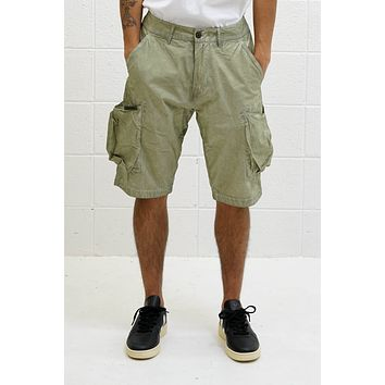 Overdyed BDU Shorts in Olive