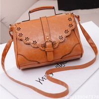 Women Leather Tote Shoulder Crossbody Lady Handbag Satchel Messenger Bag Purse Gift