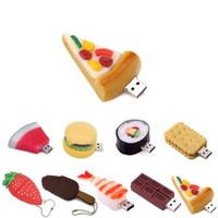 HDE 8GB Food Snack Dessert Shaped High Speed USB Flash Thumb Drive Memory Stick (Cold Pizza Slice)