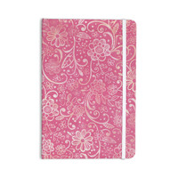 "Heidi Jennings ""Too Much Pink"" Magenta Floral Everything Notebook"
