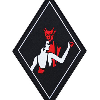 Dance With The Devil Back Patch