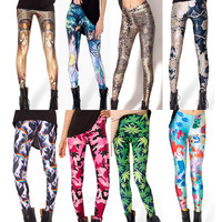 Womens Trendy Design Fit Stretch Leggings
