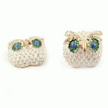 Sparkly Owls Fashion Earrings | LilyFair Jewelry
