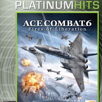 Ace Combat 6 Fires of Liberation - Platinum Hits - Xbox 360 (Very Good)