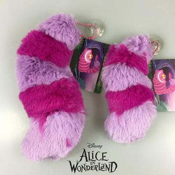 1Pcs/set Super Cute Alice In Wonderland Cheshire Cat Tail Soft Stuff Plush Toy Doll Birthday Gift Collection plush-045