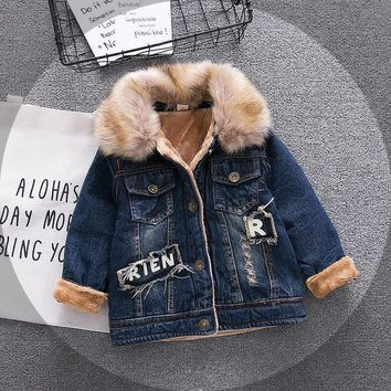 Baby Boys Denim Jacket Vintage Jeans Jackets for Boy Toddler Baby Denim Jackets  Boys Jean Jacket