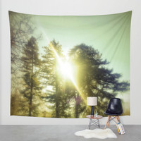 Light Seeker Wall Tapestry by DuckyB (Brandi)