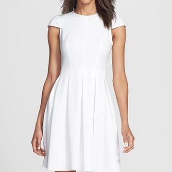 Jill Jill Stuart Cutout Back Fit & Flare