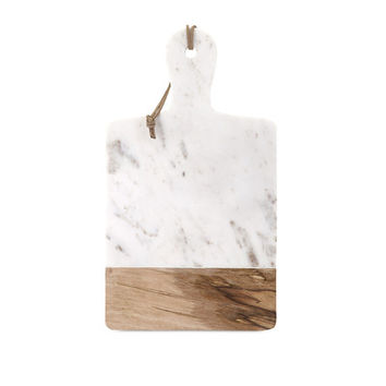 IMAX Marble and Wood Addy Cheese Board