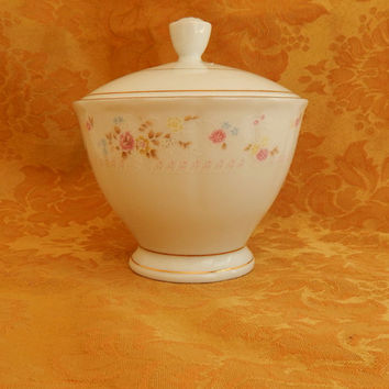 Vintage Sugar Bowl-Marked on Bottom Made in China