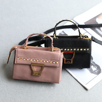 One Shoulder Vintage Mini Bags [4915807684]