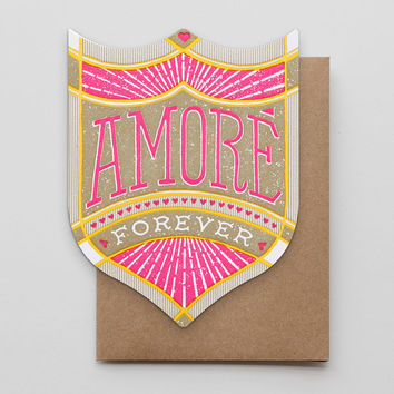 Amore Forever Badge