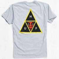 OBEY X HUF Icon Face Tee