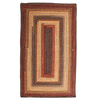 Cambridge Braided Wool Rectangle Rug
