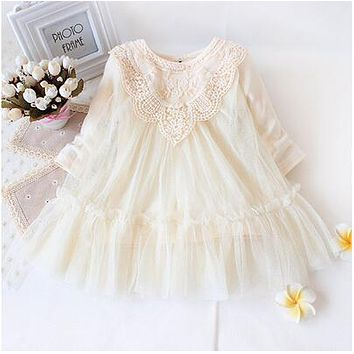 Infant Newborn Baby Girls Party Dress 20