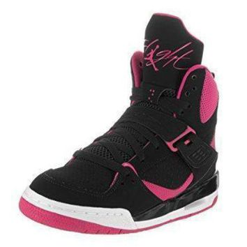 DCK7YE Jordan FLIGHT 45 HIGH IP GG girls basketball-shoes 837024 jordans shoes for girl
