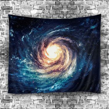 Space Swirl Tapestry, 51x60inch