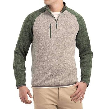 Alberta 1/4 Zip Sweater Knit Fleece Pullover by Johnnie-O